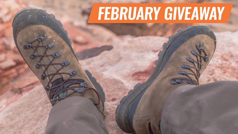 February INSIDER Kenetrek Mountain Extreme boot giveaway