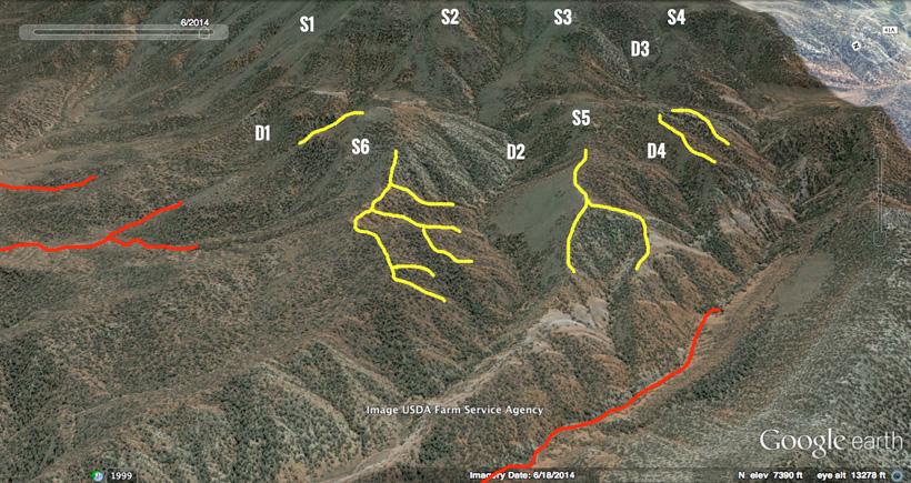 how to find big mule deer areas using google earth gohunt