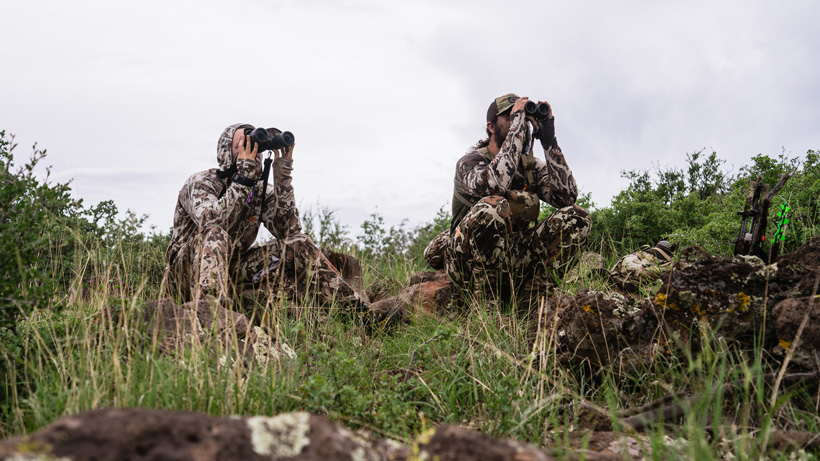 First Lite clothing for backcountry hunting