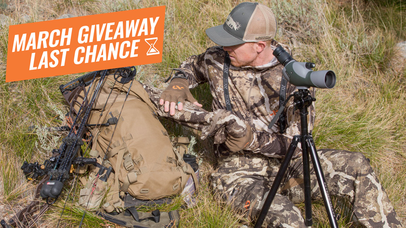 First Lite hunting clothing giveaway last chance
