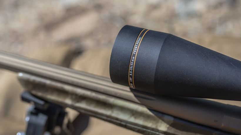 First focal plane Leupold riflescope