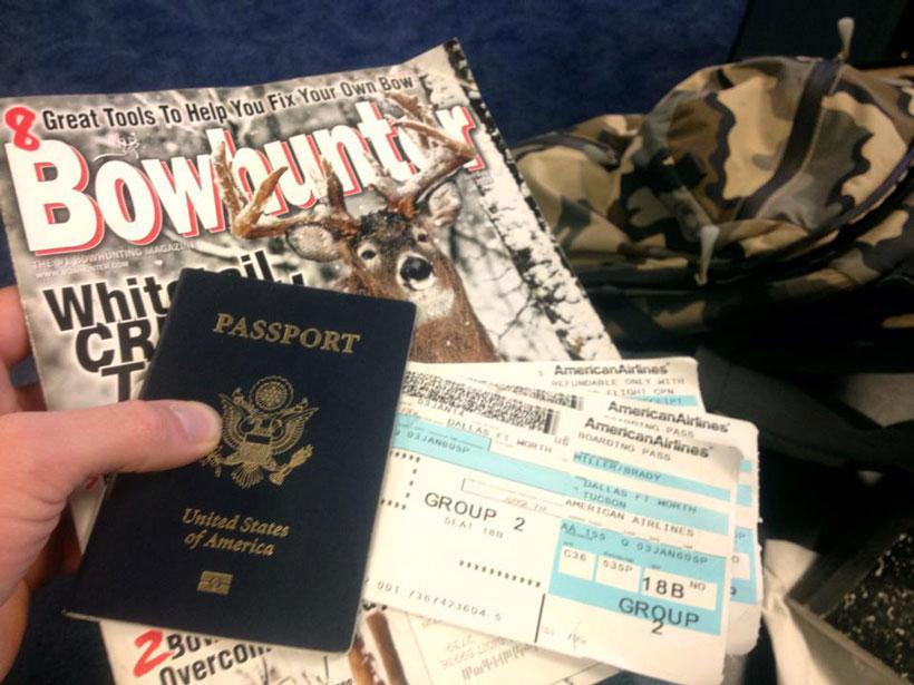 Flight to Arizona