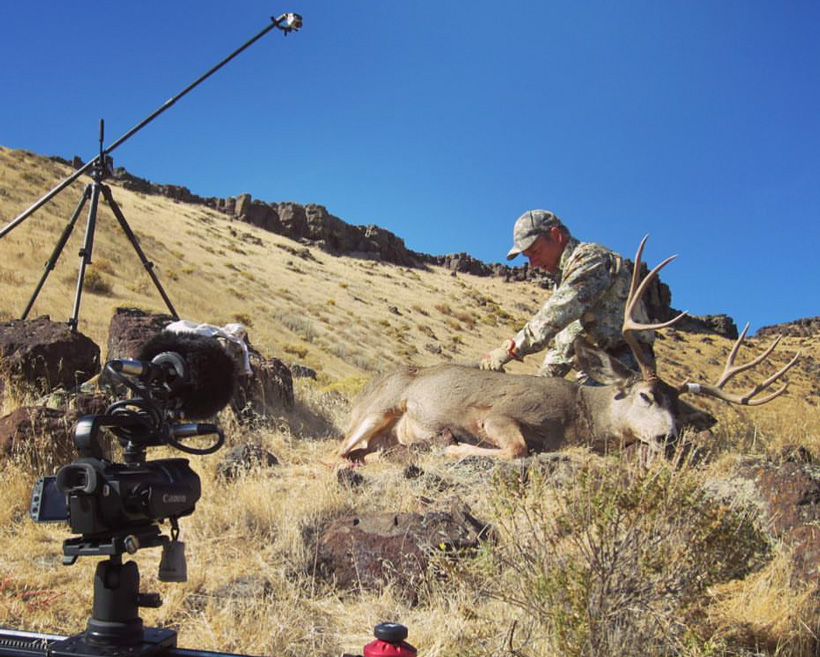 Framing your video footage for a hunting film