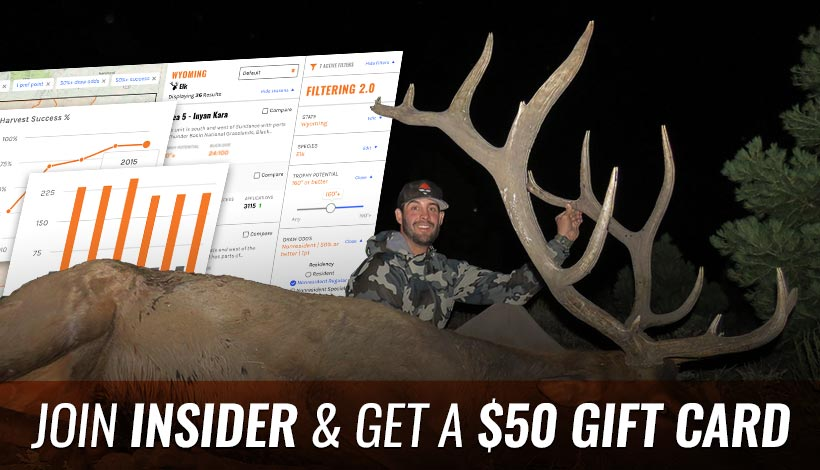 Join INSIDER and get a $50 gift card