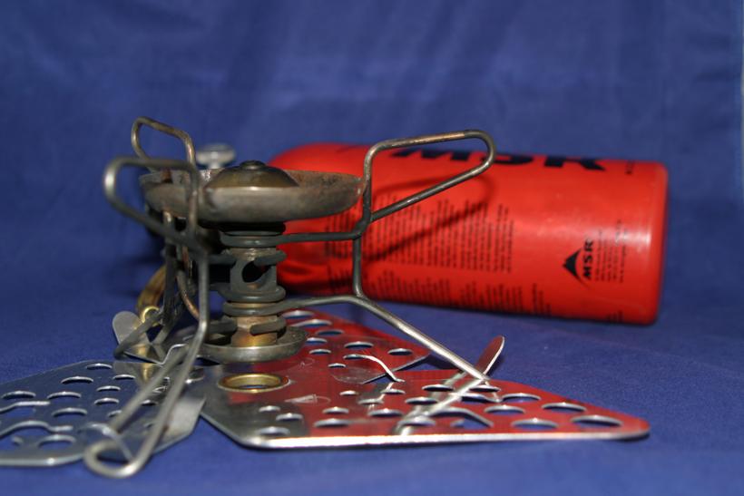 Fuel bottle type stove