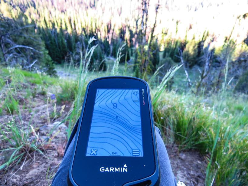 GPS while hunting elk