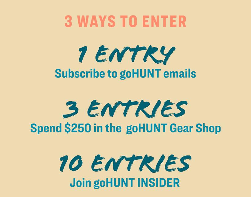 Gain entries for summer of elk giveaway