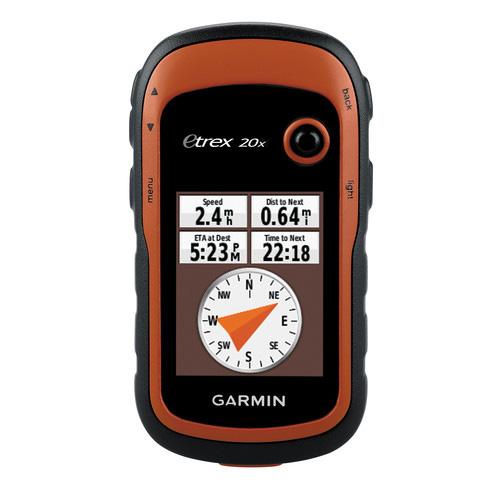 Garmin Etrex20x handheld GPS for hunting
