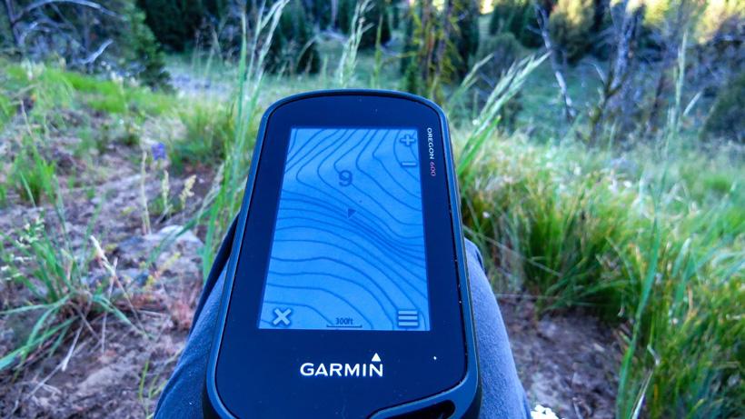 Garmin GPS while hunting
