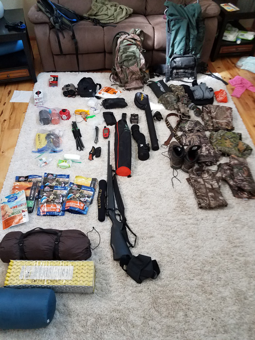 Gear for the bighorn sheep hunt
