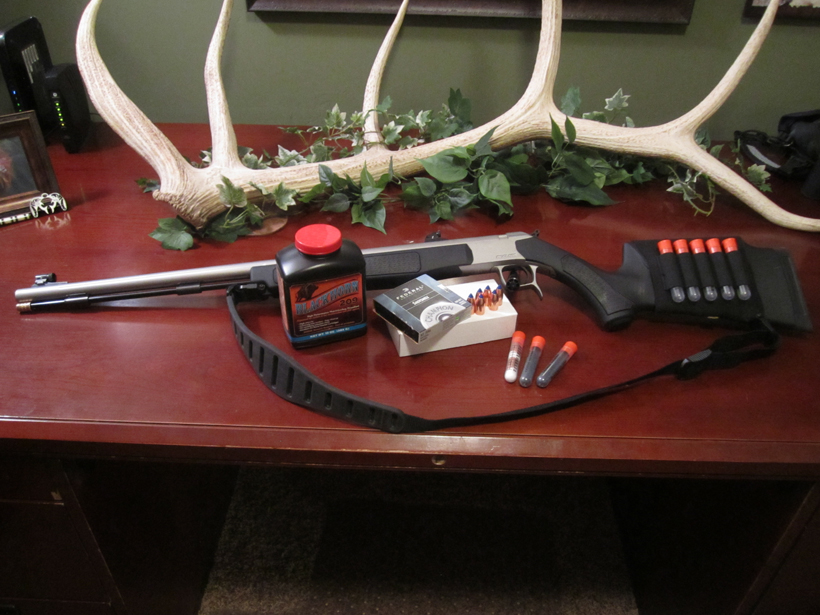 Getting the muzzleloader ready