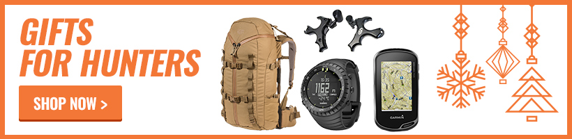 Holiday gifts for hunters