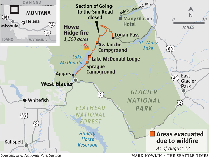 Wildfires Claim Parts Of Montana S Glacier National Park Gohunt
