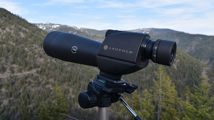 Glassing for bears with Leupold spotting scope