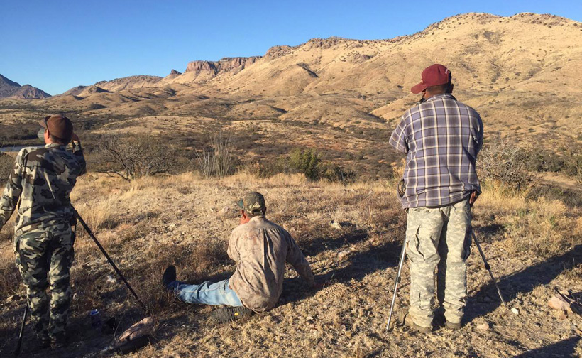 Glassing for bison in Mexico