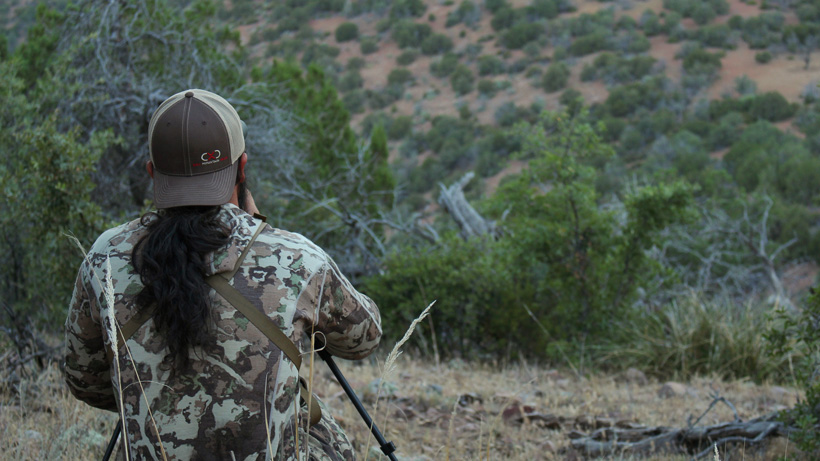 Glassing for deer in Arizona