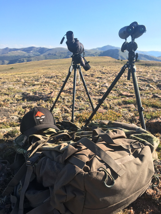 Glassing for mule deer with Vortex Optics