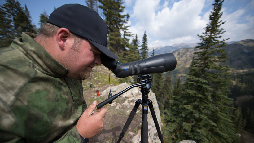 Glassing long distances with a Zeiss Conquest Gavia spotting scope