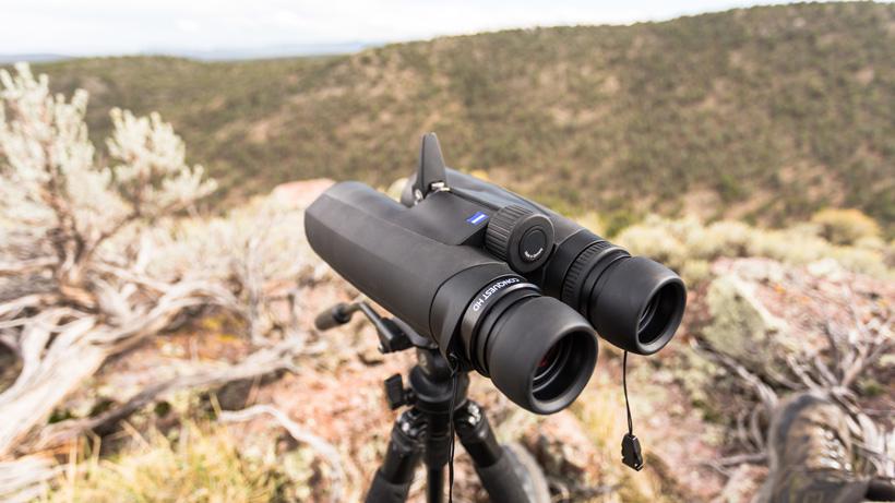 Glassing with 15 power Zeiss binoculars