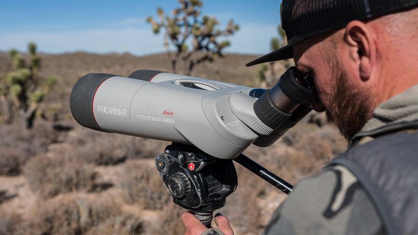 Glassing with Kowa High Lander optics