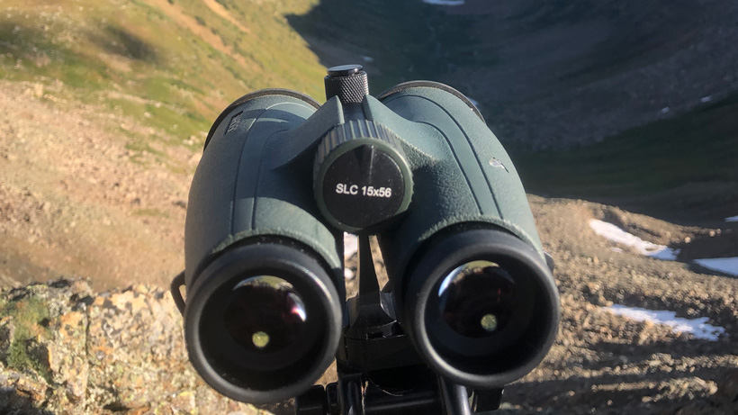 Glassing with Swarovski 15x56 binoculars