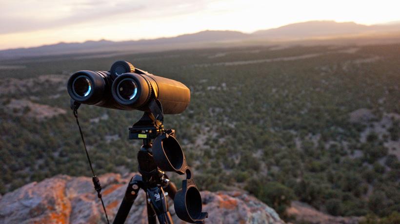 Glassing with Zeiss 15 power binoculars