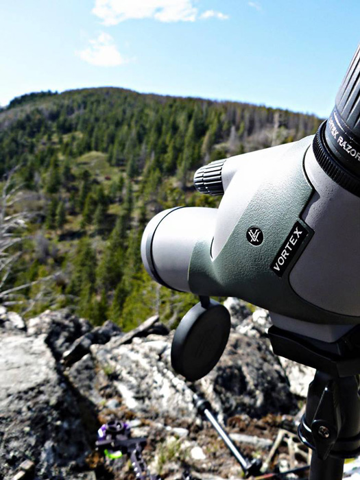 Glassing with a Vortex Optics spotting scope