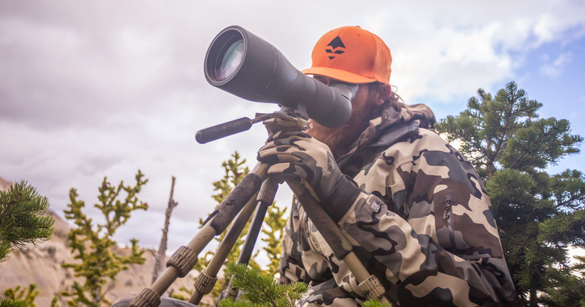 Glassing with a Vortex Razor HD spotting scope