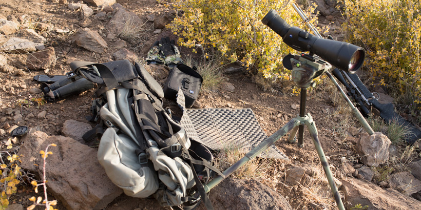 Glassing with an aluminum Manfrotto tripod