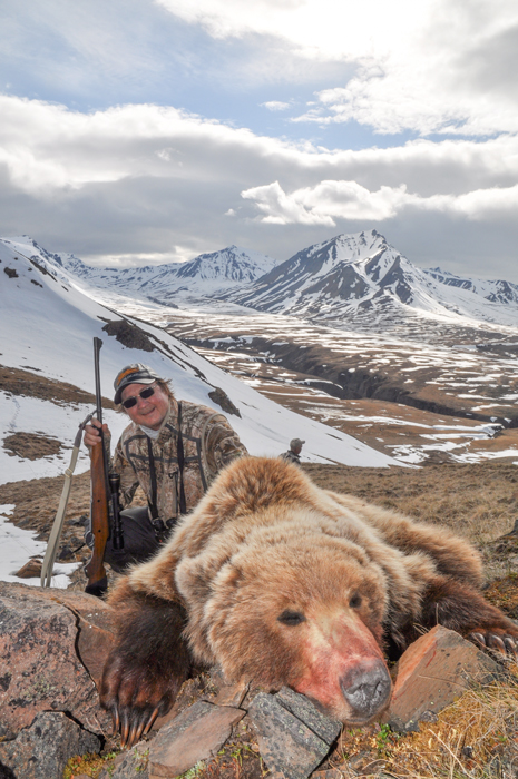 Grizzly bear harvest photo