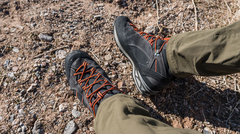 Hanwag Makra Combi GTX boots for hunting