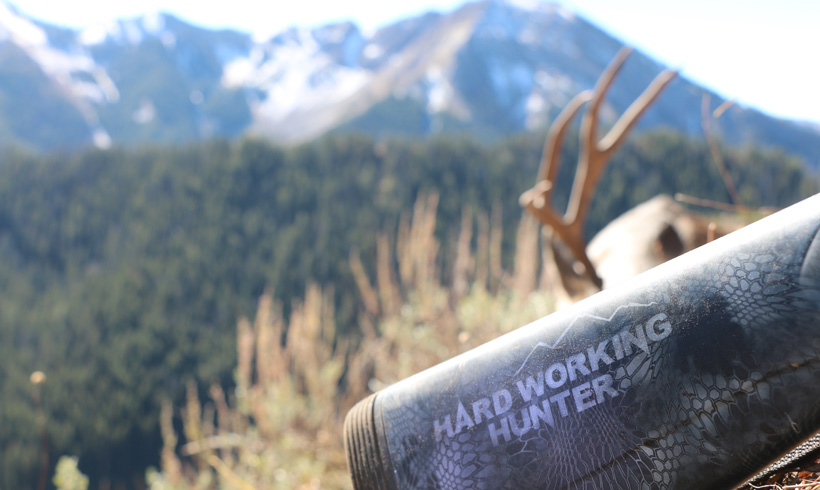 Hard working hunter equals mule deer success