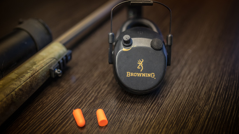 Hearing protection methods for rifle shooting
