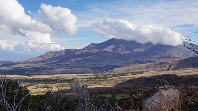 Henry Mountains in Utah