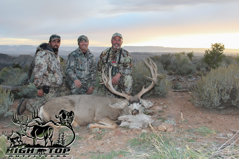 Kent's mule deer with guides