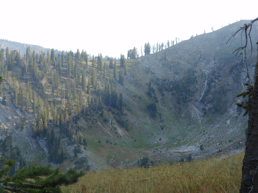 High country Wyoming basin