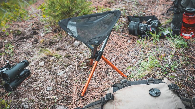 Hillsound BTR glassing stool for hunting