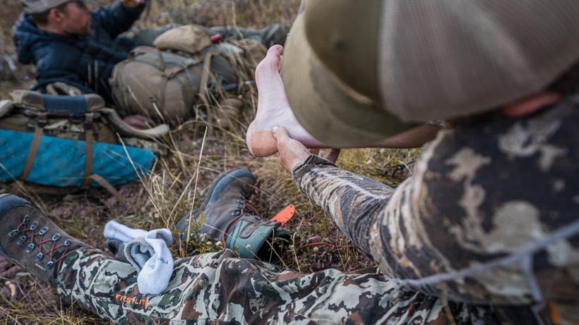Hot spots on feet