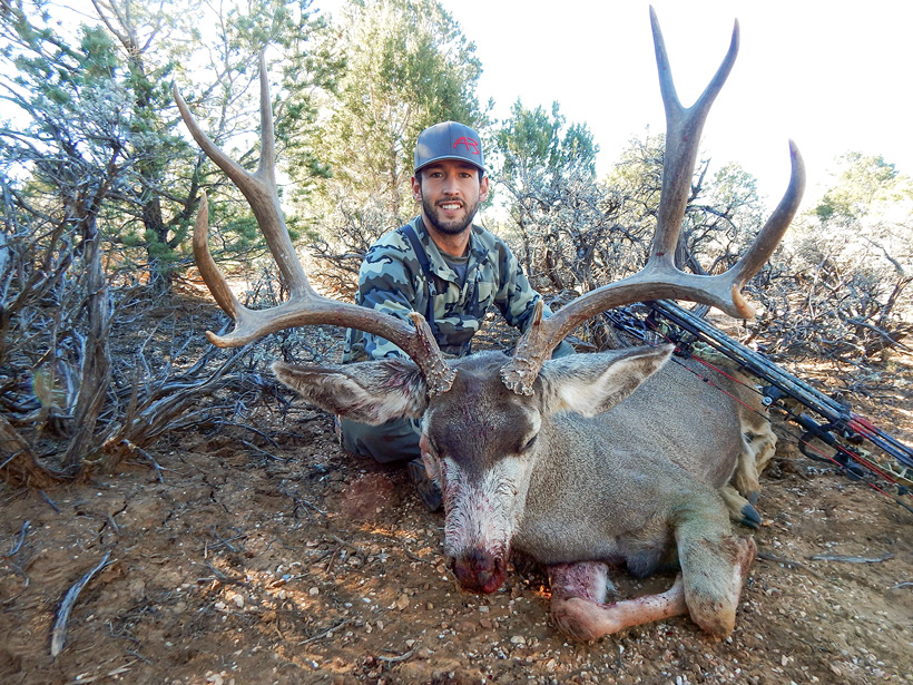 Hunter Weems Arizona OTC archery mule deer