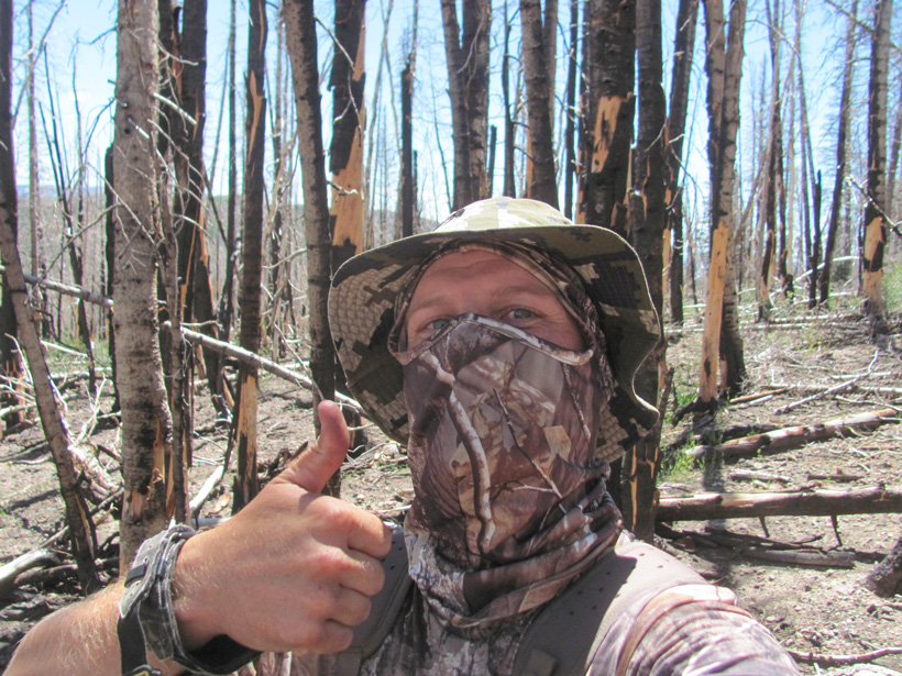 Hunting selfie after the shot