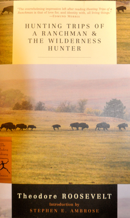 Hunting trips of a ranchman and the wilderness hunter book