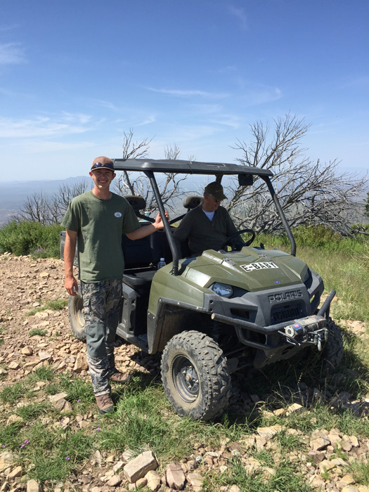 Hunting for Coues deer in Arizona