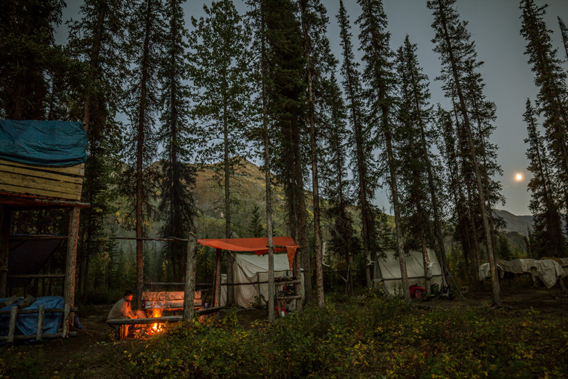 Hunting the backcountry with wall tents