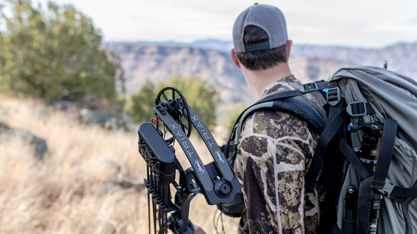Hunting with a Mathews Triax bow