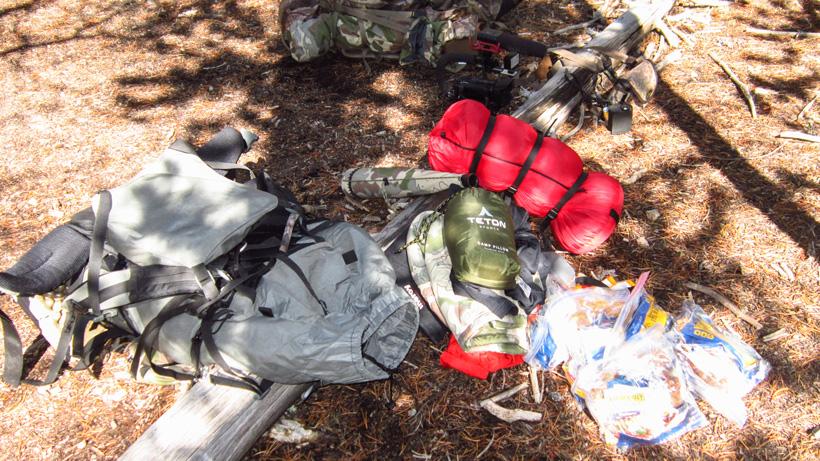 Elk hunting backpacking gear