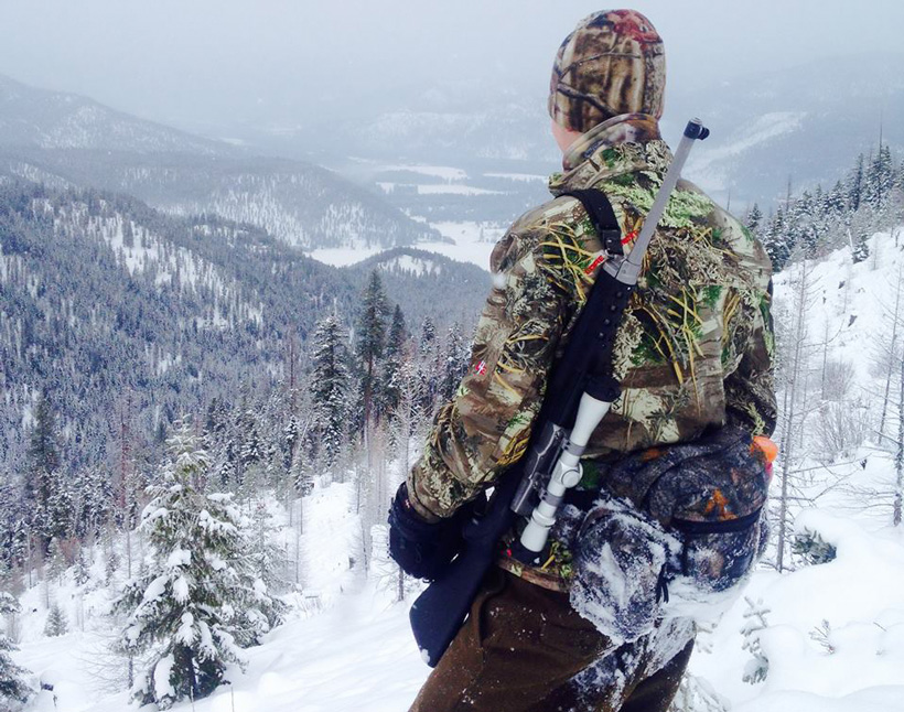 Hunting wolves in Montana
