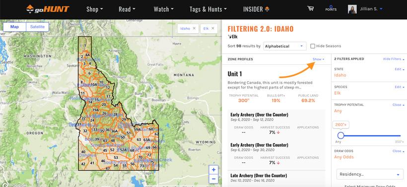 INSIDER Enhancements - Idaho elk