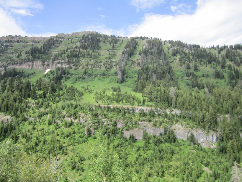 Hunting scenery Idaho's backcountry