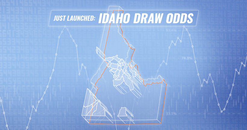 Idaho draw odds announcement