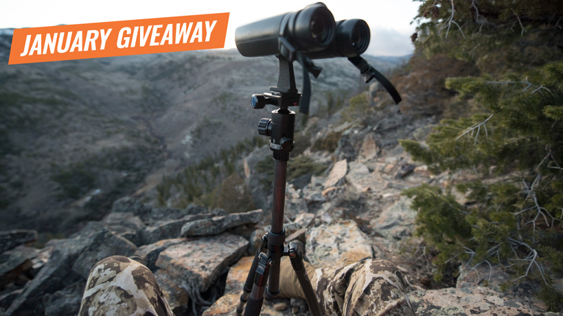 January INSIDER giveaway Sirui T-024x carbon fiber tripods